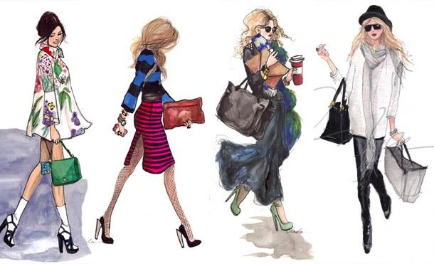 Рисунки которые в моде